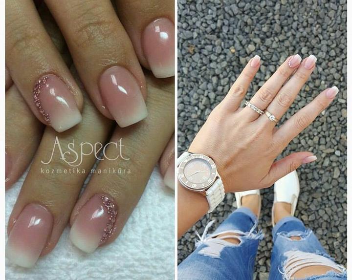 Svadobné manikúry neviest z MS - @basica - Nechty: Lucka – Salón  Aspect Prešov (fb: Gel Nails Aspect)