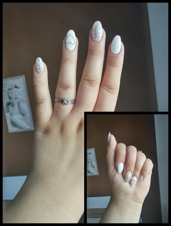 Svadobné manikúry neviest z MS - @martinakm - Nechty: Beauty woman Ilava