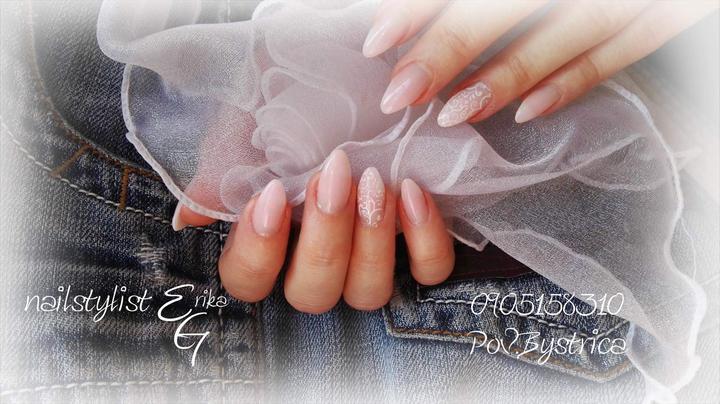 Svadobné manikúry neviest z MS - @zaralucia - Nechty: kontakt je na fotke
