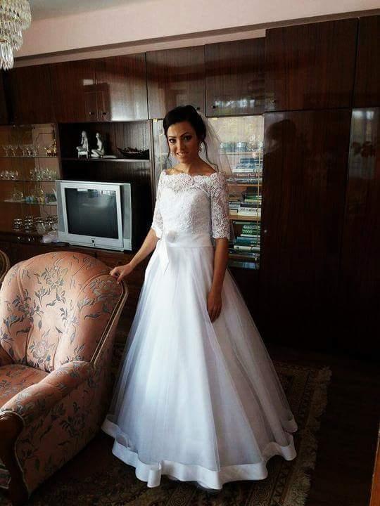 Svadobné šaty neviest z MS - @lucydia
