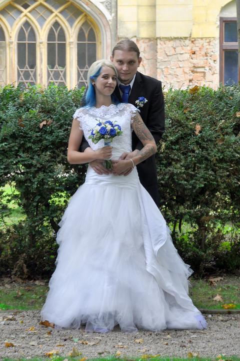 Svadobné šaty neviest z MS - @lovehate