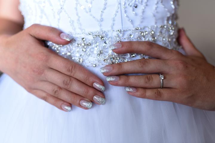 Svadobné manikúry neviest z MS - @mischee - Nechty: akrylové, Bardejov