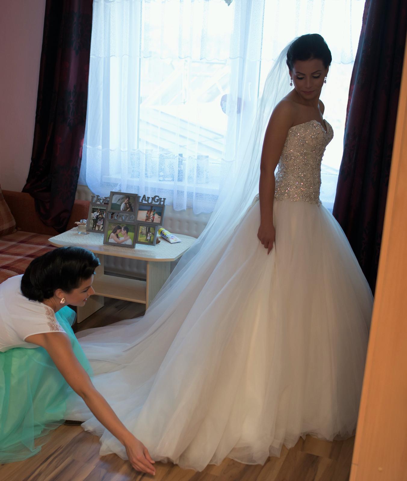 Svadobné šaty neviest z MS - @mery1602 -  Allure Bridals C244
