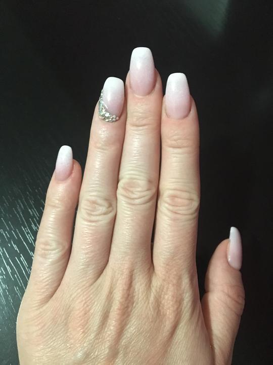 Svadobné manikúry neviest z MS - @nikus296 - Nechty: Salón krásy Danka, Hlohovec