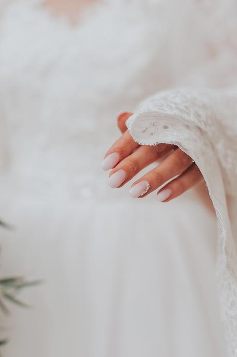 Svadobné manikúry neviest z MS - @baska17 - Nechty: Lulu nails, Gélové nechty Žilina by Lulu