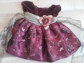 Luxusní svatební šatičky, věk 12 měsíců, 74