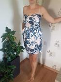 Krátke šaty s vreckami, 38