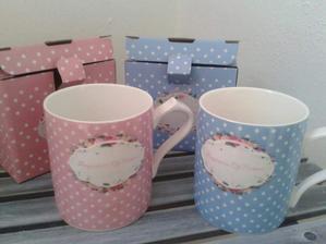 Jeden pro mě, druhý pro manžela na ranní společnou kávičku :-)