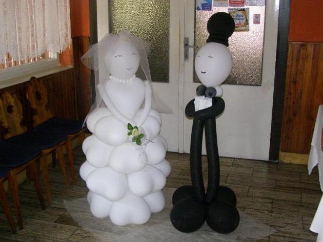 Inšpirácie a prípravy na náš deň D 2.10.2010 - ináč balóny nechcem, ale toto je super :-)