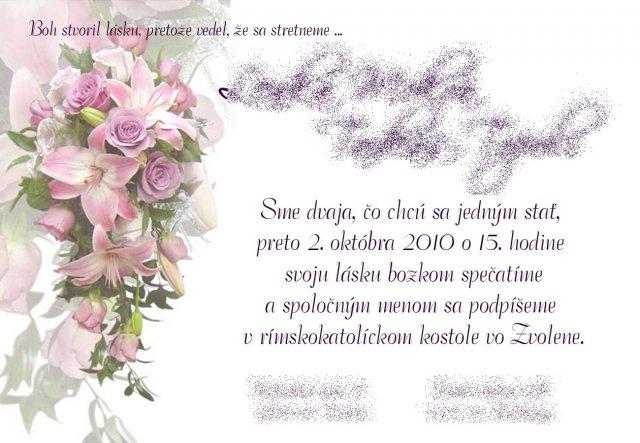 Inšpirácie a prípravy na náš deň D 2.10.2010 - naše oznamko