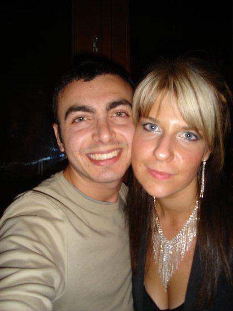 Silvia a Massimo - my dvaja, na oslave mojich narodenin ...