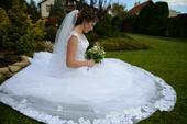 svadobné šaty - predaj, 36