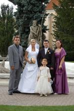 ...s Radkovym bratom, mojou sestrou a neterkou..