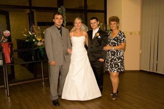s Radkovou maminkou a bratom