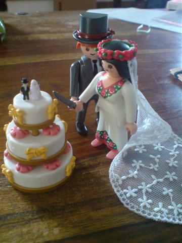 Valeria & Nikos - postavicky na tortu ;-)