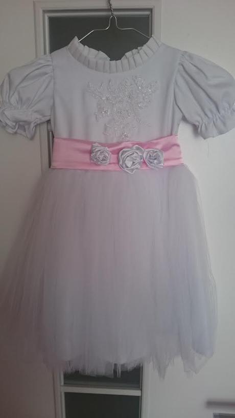 Svadobné šaty pre družičku-dieťa - Obrázok č. 3