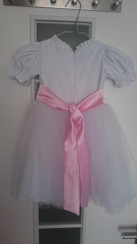 Svadobné šaty pre družičku-dieťa - Obrázok č. 2