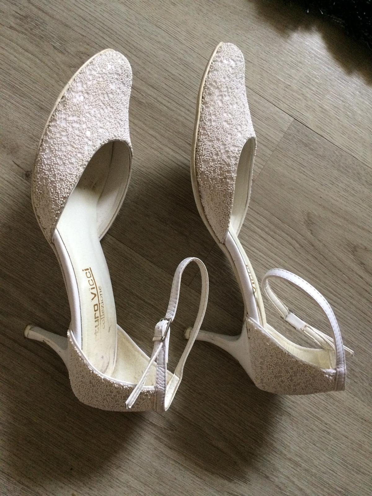 svadobné topánky č.39 - Obrázok č. 1