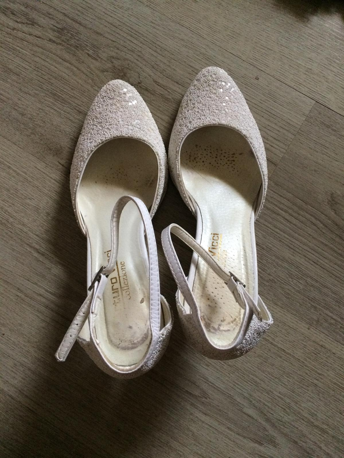 svadobné topánky č.39 - Obrázok č. 2