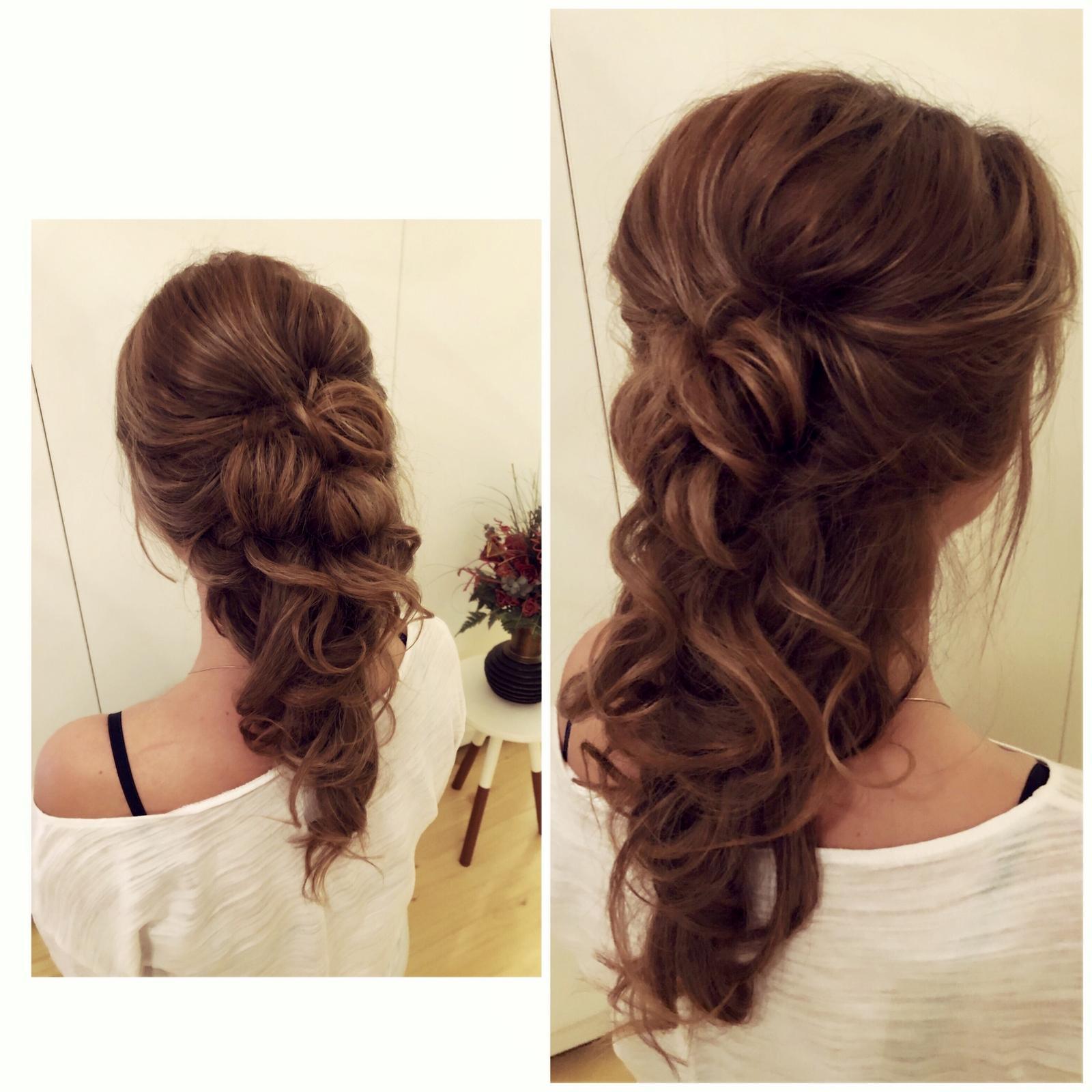 Wedding hairstyle 2019 💄 - Obrázek č. 1