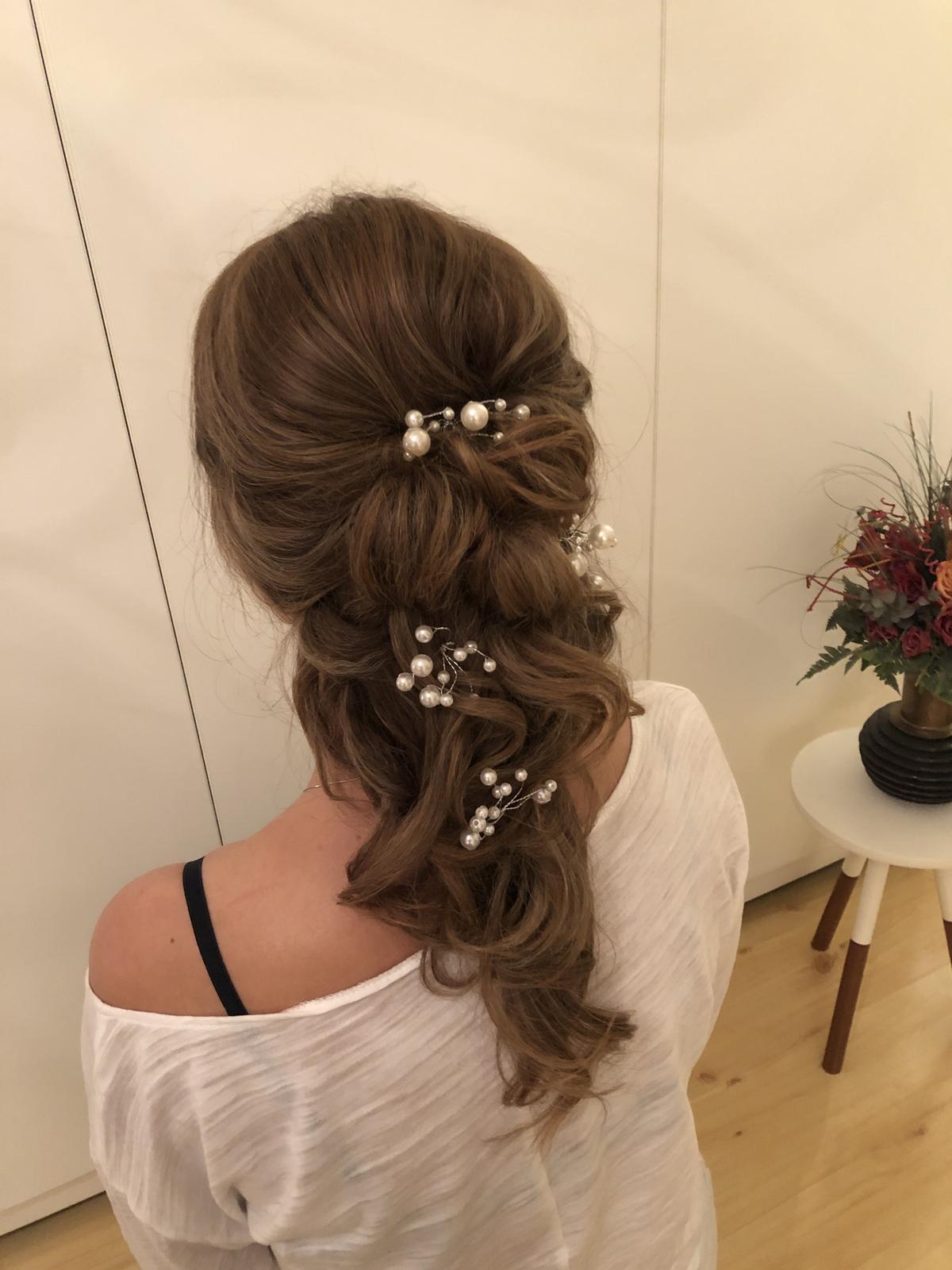 Wedding hairstyle 2019 💄 - Obrázek č. 6