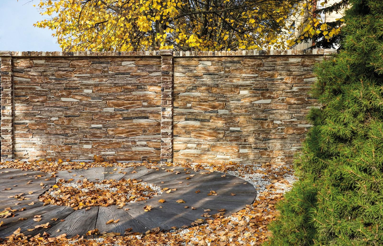 Betónový plot inak - Obrázok č. 2