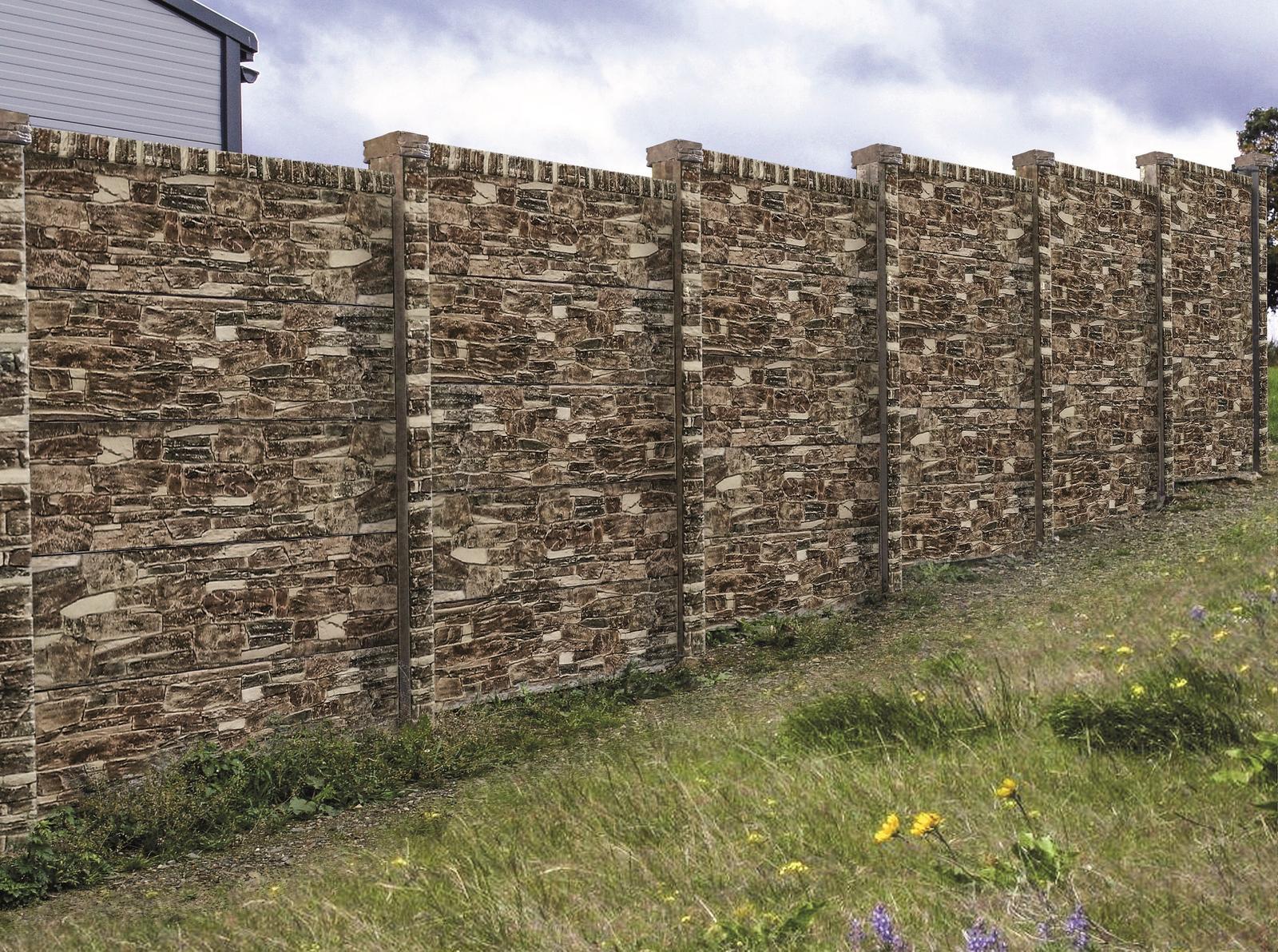 Betónový plot inak - Obrázok č. 4