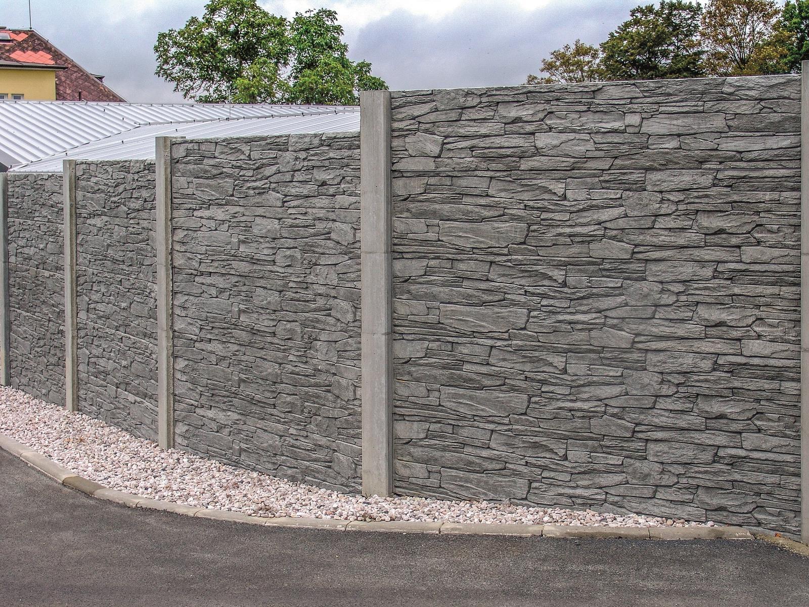 Betónový plot inak - Obrázok č. 5