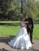Romantické svatební šaty Mori Lee, 40