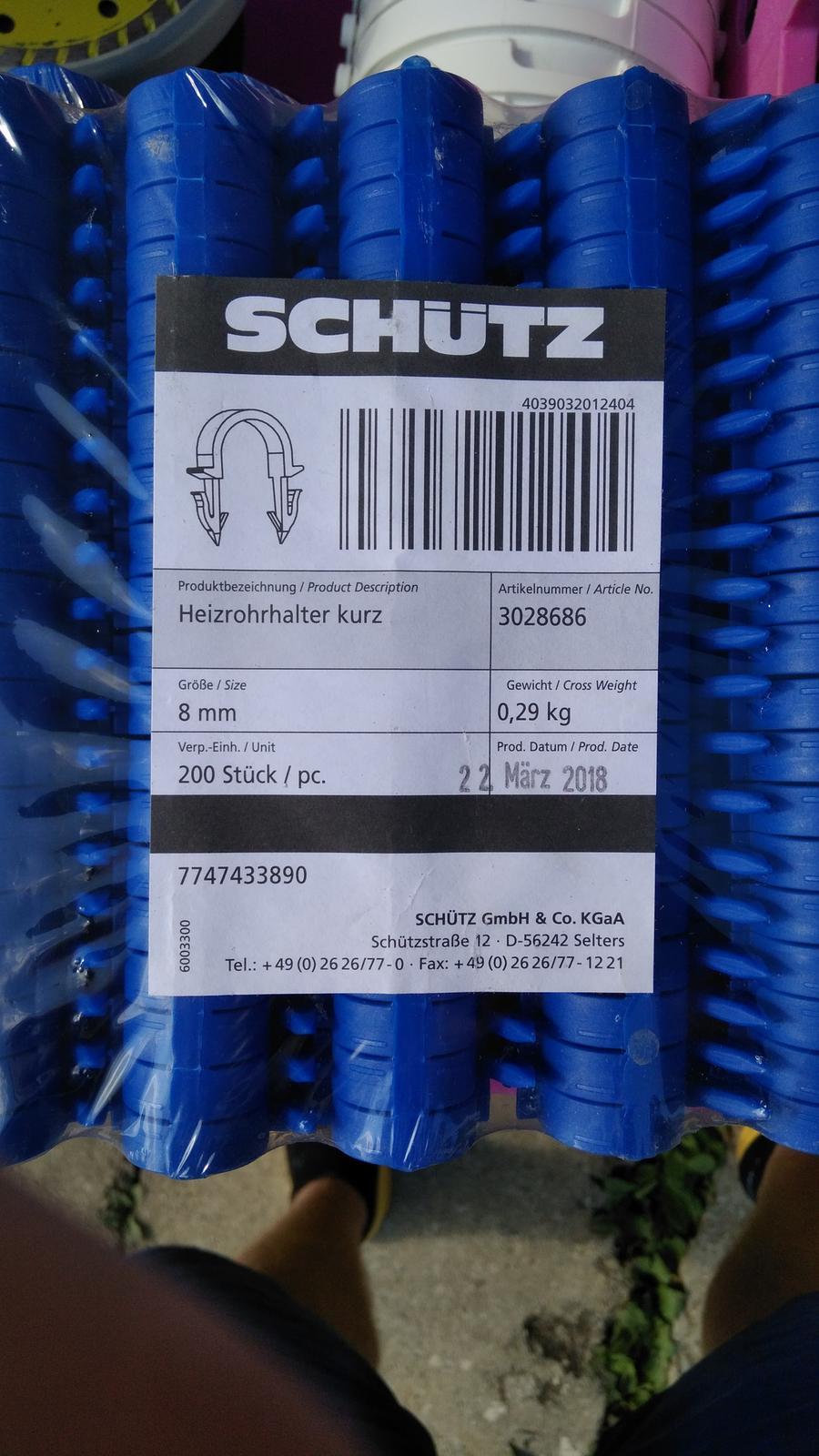 Tacker spony schutz 8mm - Obrázok č. 1