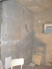 naša mikro-kúpelka, vysieťkovaná