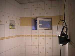 juchú juchú, kúpeľňa je takmer v suchu ;-)