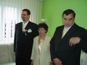 manžel s rodičmi