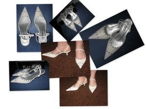 moje svatební botičky za pár kaček