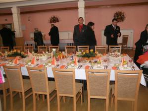 svatební tabule podruhé