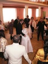 náš první společný taneček