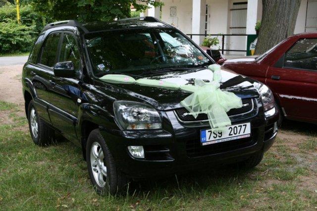 Michaela{{_AND_}}Petr - Auto nevěsty