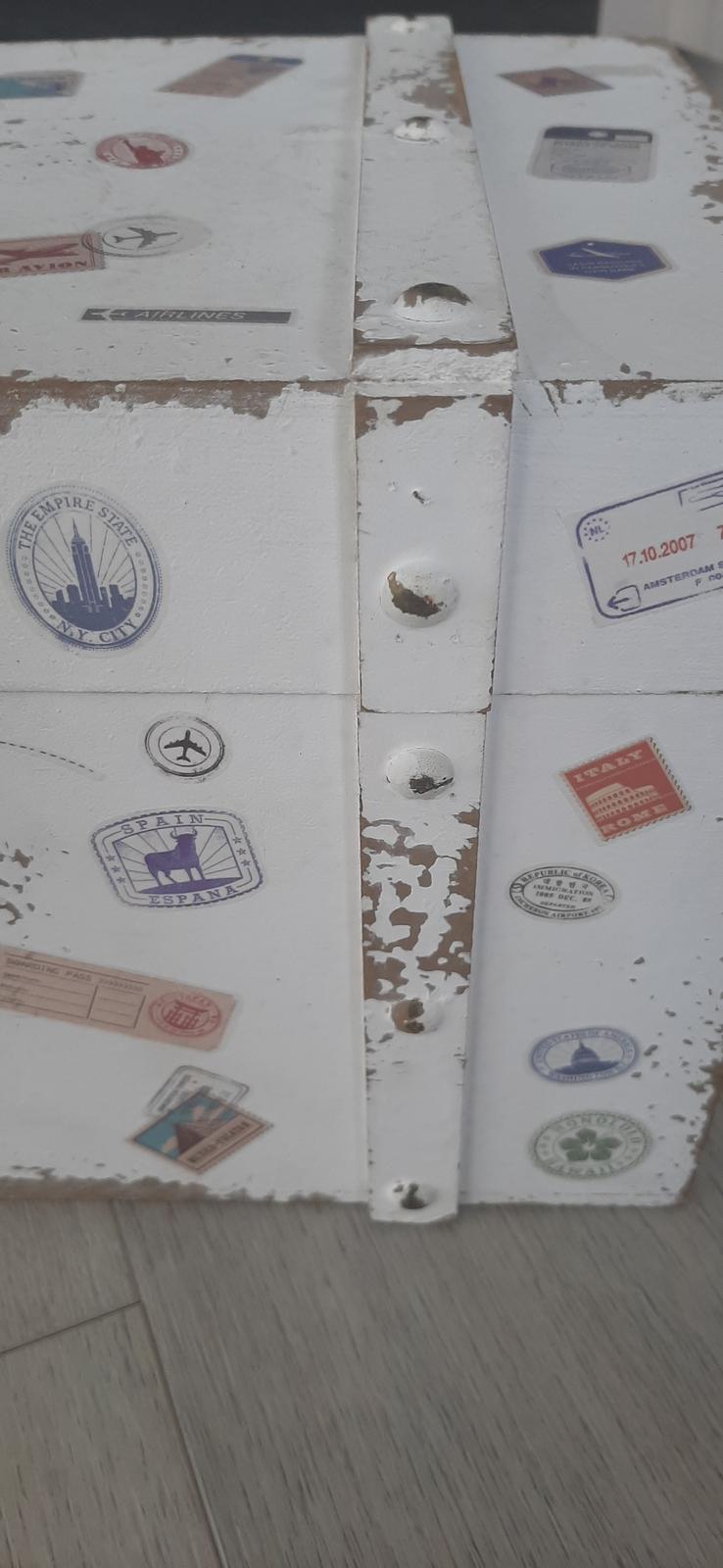 Cestovatelská truhla - Obrázek č. 1