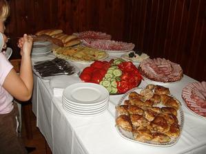 Švédský stůl na večer