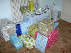 Svatební dary - takový slušný Ježíšek