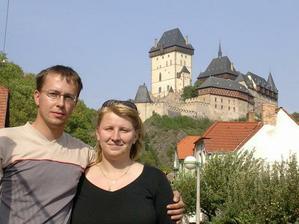ze svatební cesty po Čechách, mj. jsme se zastavili na Karlštějně