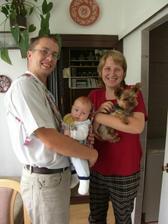 Happyend :) - Naše rodinka přesně rok po svatbě