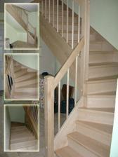 Nove schody jsou hotove, huraaa :)