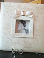 Svadobná kniha, kde budem mať všetkých svadobných hostí...na pamiatku...