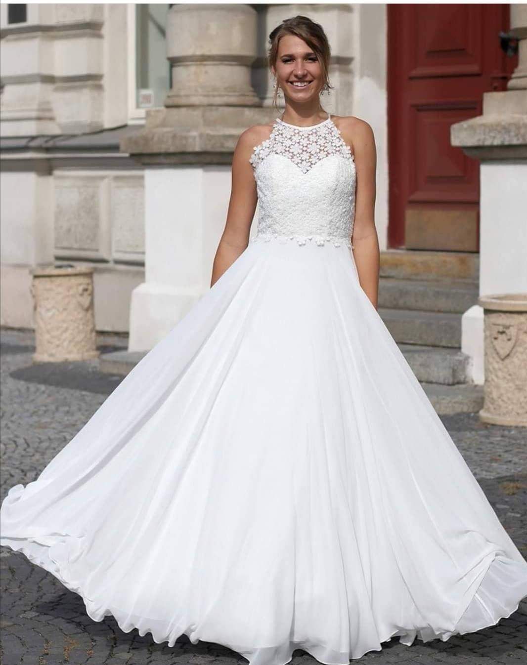 Svatební šaty vel 44 - Obrázek č. 1