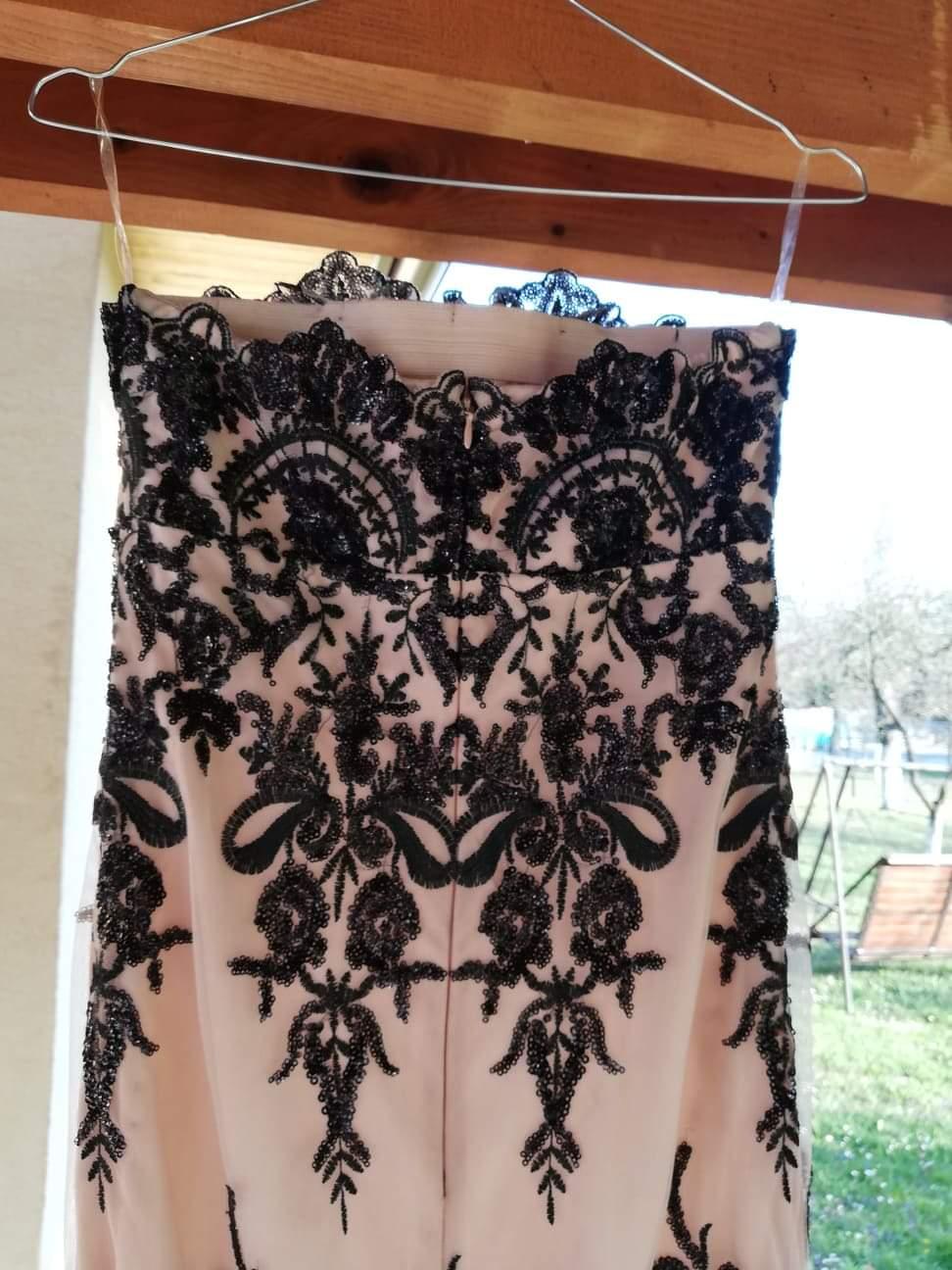 Béžové šaty s flitrami - Obrázok č. 4