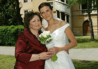 S maminkou....