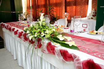 Na hlavný stôl