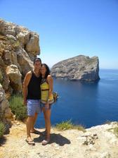 a svatební cesta...Sardinie...