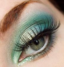 make up - opäť do zelena